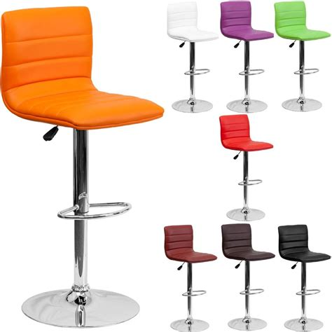 bar stool swivel chairs unique modern adjustable height metal bar stool swivel