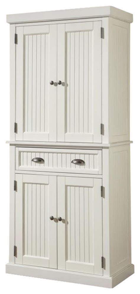 white pantry cabinets for kitchen nantucket pantry distressed white farmhouse pantry