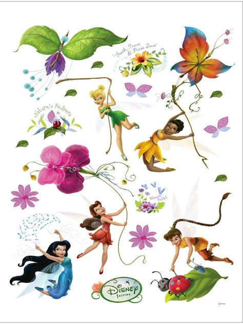 disney fairies maxi stickers muraux f 233 e clochette 85x65cm fairies f 233 e clochette decokids