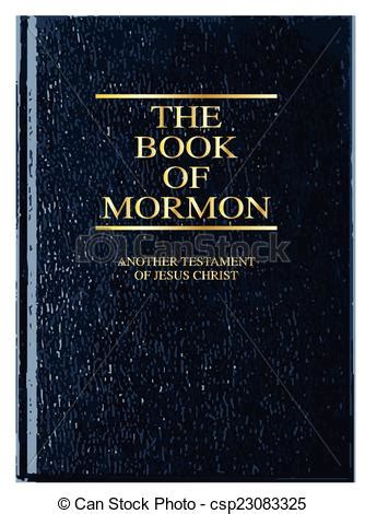 the book of mormon pictures vector illustration of the book of mormon the front