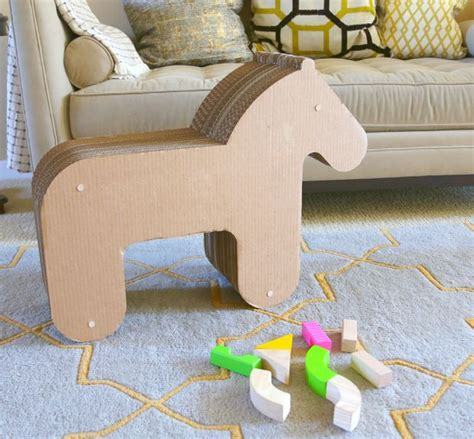how to make a out of pony cardboard