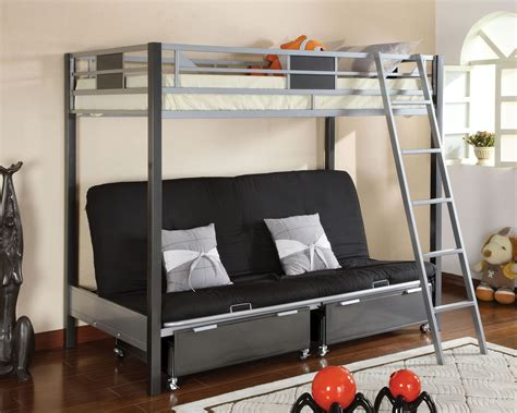 futon mattress for bunk bed metal futon bunk bed roof fence futons