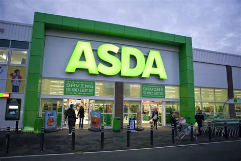 store uk asda store front united kingdom
