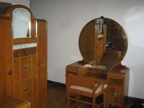 1930s bedroom furniture vintage 1930s bedroom furniture set vanity dresser