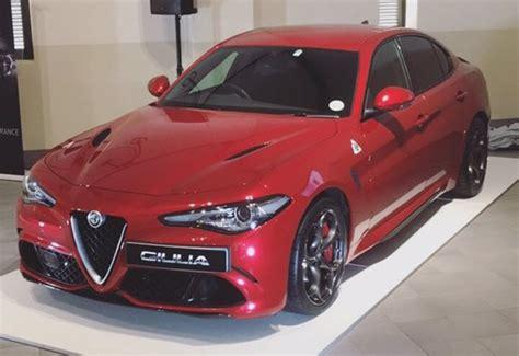 Alfa Romeo Price Range by Alfa Romeo S New Giulia In Sa Driving Impression Price