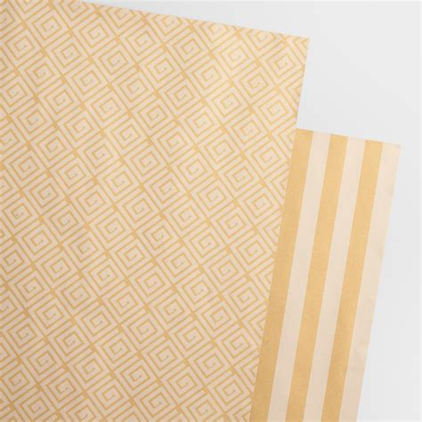 printing on craft paper reversible printed kraft wrapping paper rolls 2 pack