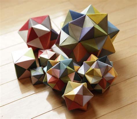 modular origami octahedron modular origami icosahedron octahedron cube 171 math