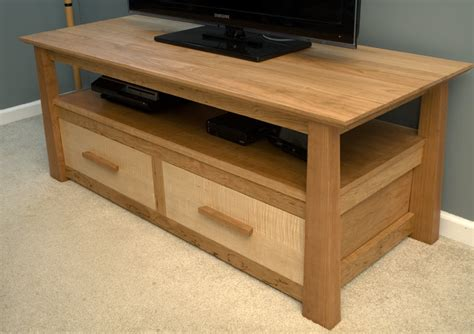 tv stand plans woodworking free cherry tv stand by garagewoodworks lumberjocks