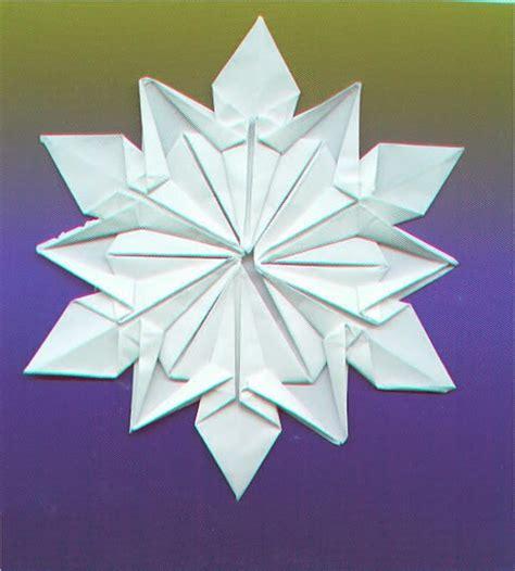 Origami Maniacs Origami Snowflake By Dennis Walker
