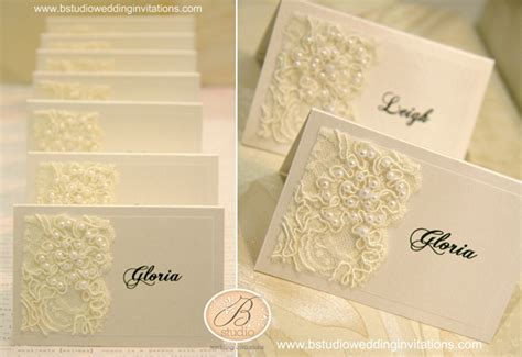 how to make place cards for wedding place cards b studio wedding invitations style