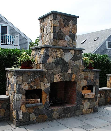 outdoor fireplace outdoor fireplaces fireplace kits cape cod ma