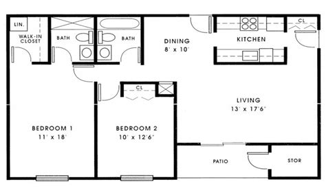 small 2 bedroom house floor plans small 2 bedroom house plans 1000 sq ft small 2 bedroom