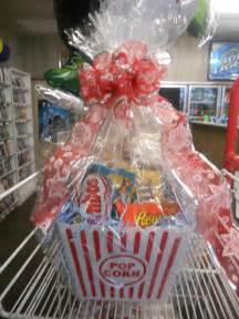 popcorn gifts popcorn gift basket tickets or dvd supply cake