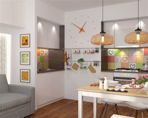 kitchen design square room 4 and stylish spaces 50 square meters