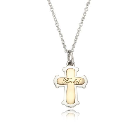 baby necklace kaiu silver cross pendant baby necklace kmall24