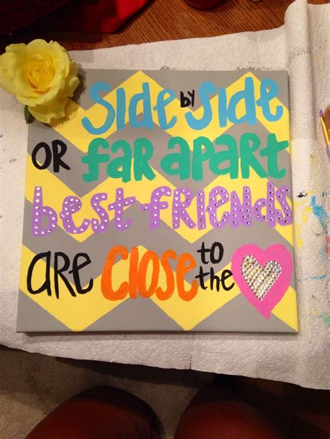 bff crafts for 25 best ideas about going away presents on