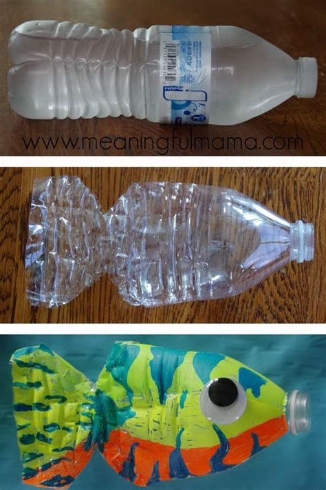 water bottle crafts for fish crafts for hative