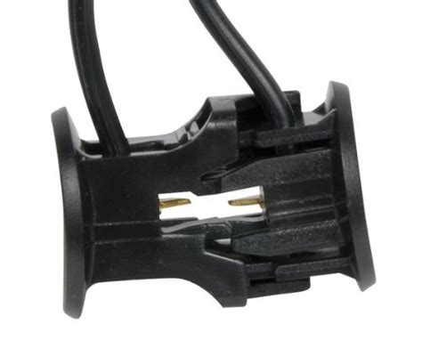 paradise gl22352 plastic clip wire connector for low voltage landscape lighting bulbs