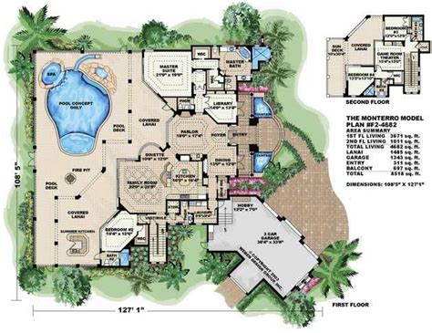 mediterranean house floor plans mediterranean house plans home design wdgf2 4682 13283