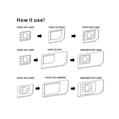 how to make sim card micro iphone 5 nano sim micro sim standard sim card adapters