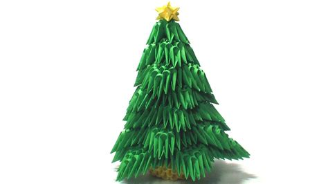 how to make a 3d origami tree 3d origami tree