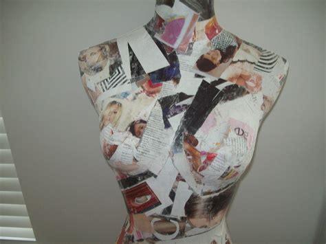 decoupage mannequin decoupage mannequin 183 how to make a mannequins 183 decoupage