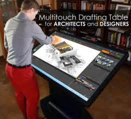 student drafting table multitouch drafting table for architects designers and