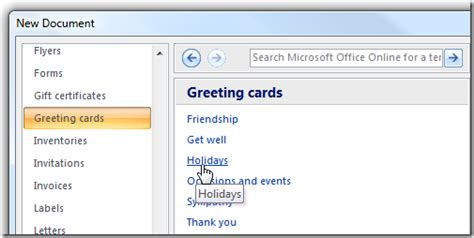 how to make a birthday card on microsoft word make your last minute cards with microsoft word
