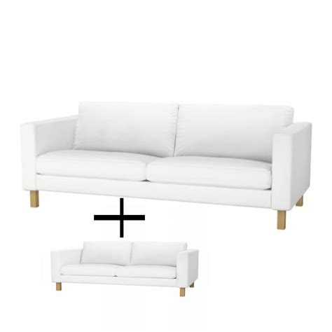 3 seat sofa slipcovers ikea karlstad 3 seat sofa and 2 seat lovseat slipcover