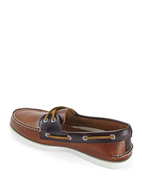 primitive rubber sts sperry top sider brown authentic original cyclone
