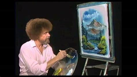 bob ross painting easel bob ross malerei gebirgsfluss malerei
