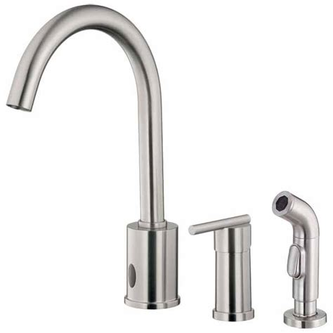 free kitchen faucets free sensor operated kitchen faucets