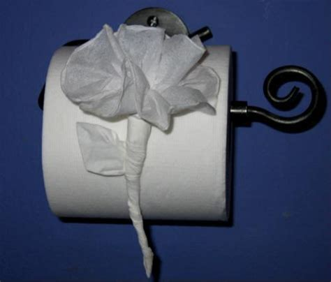 toilet paper origami flower impress house guests with toilet paper origami soranews24