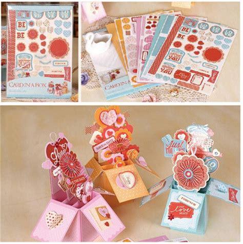 how to make card in a box aliexpress buy creative diy handmade pop