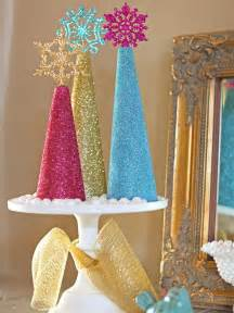 tree decorations diy how to make glitter tree decorations how tos diy