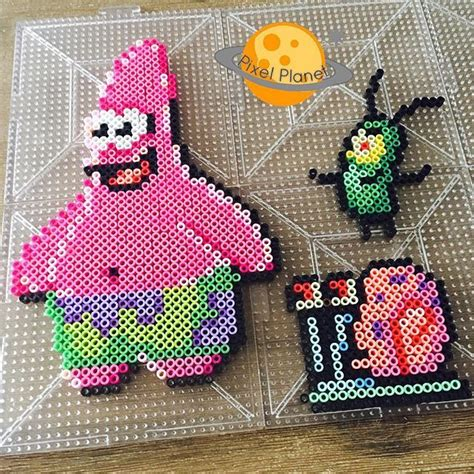 spongebob perler 25 best ideas about fuse on hama