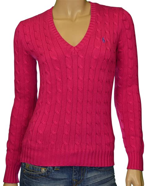 ralph cable knit sweater womens polo ralph s v neck cable knit sweater