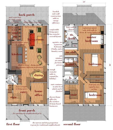 swedish house plans new narrow lot modern infill house plans modern house design