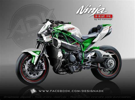 h2r kawasaki h2r streetfighter concept by ad koncept