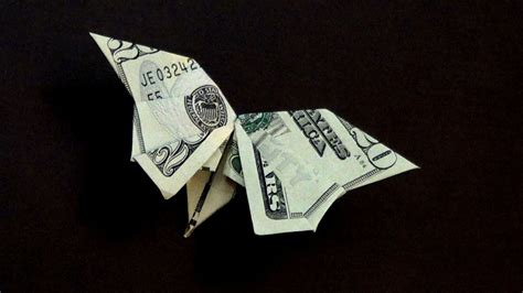 easy dollar bill origami dollar origami butterfly tutorial how to make a dollar