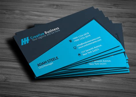 easiest way to make business cards simple guide to a business card template
