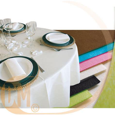 nappe ronde jetable en papier non tiss diam 240 cm achat nappes