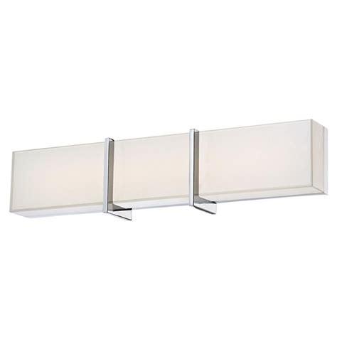 led bathroom lights minka lighting high rise led bathroom light in chrome