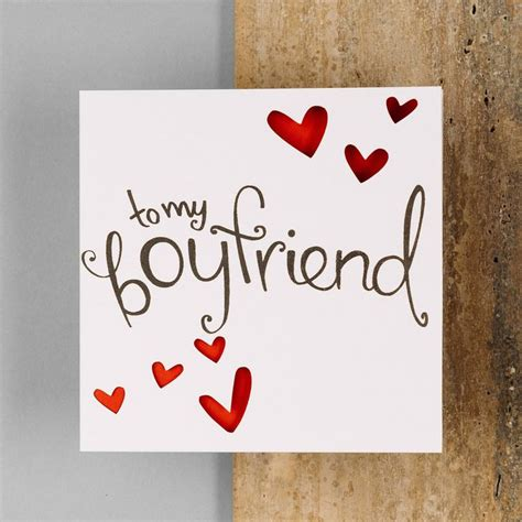 card for boyfriend 1000 ideas about boyfriend card on