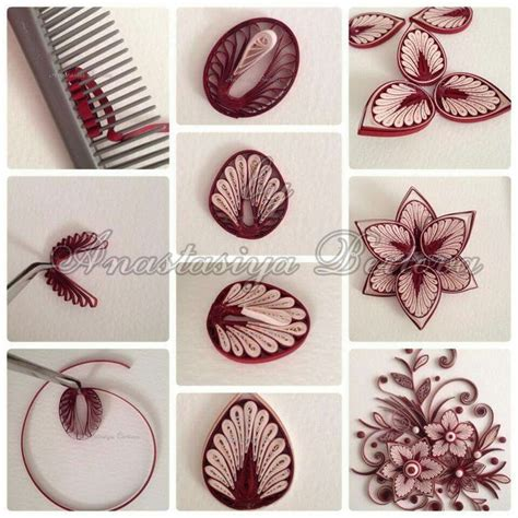 paper crafting techniques 25 best ideas about paper quilling flowers on