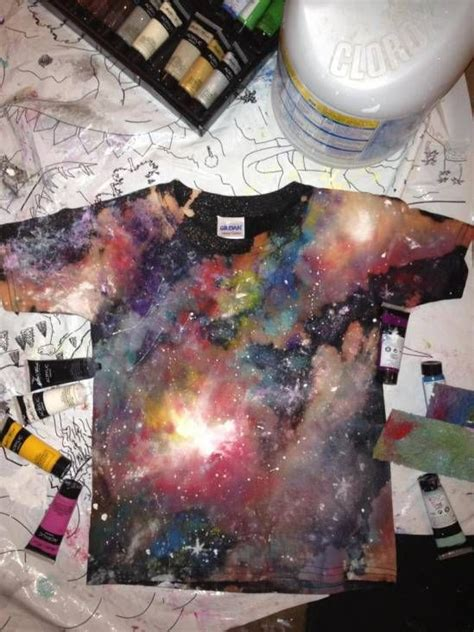 spray paint galaxy tutorial 42 design ideas for spray paint shirts guide patterns