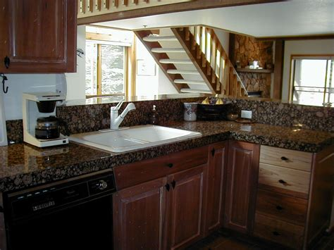 kitchen granite countertop ideas mixed granite kitchen design ideas and photos theydesign net theydesign net