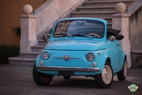 Fiat 500 Jolly by Fiat 500 Jolly Fuoriserie Azzurra Wedding Vintage Motors