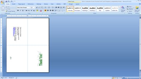how to make cards on word birthday card template microsoft word gangcraft net
