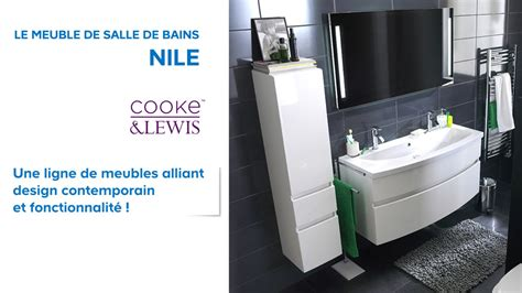 meuble de salle de bains nile cooke lewis 602214 castorama